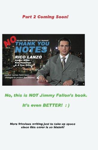 No Thank You Notes ebook by Rico Lanzo