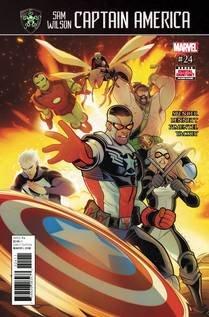 Captain America Sam Wilson -24 Available- 7-26-17 ebook by Marvel Comics