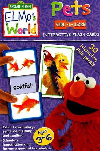 Pets- Sesame Street Elmos World Slide & Learn Flash Cards ebook by Sesame Workshop