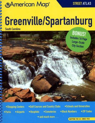American Map Greenville- Spartanburg Sc Atlas ebook by American Map Company