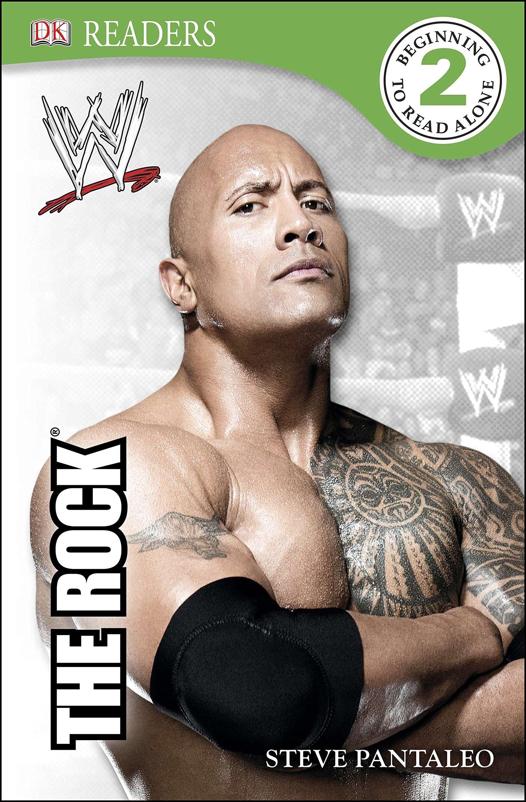 DK Reader Level 2- WWE The Rock WWE- DK Readers Level 2  ebook by Steven Pantaleo