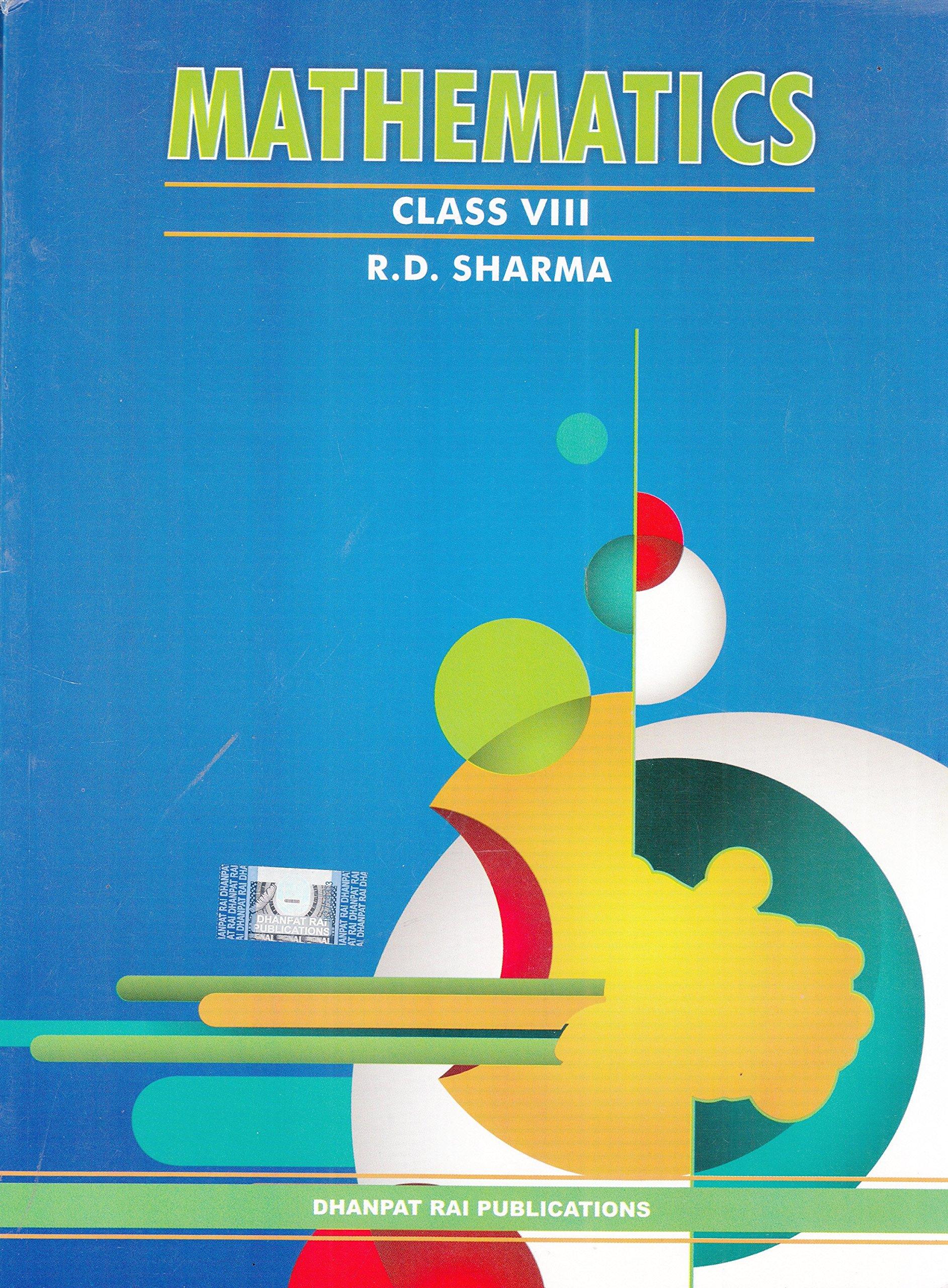 Mathematics Class VIII ebook by R.D. Sharma